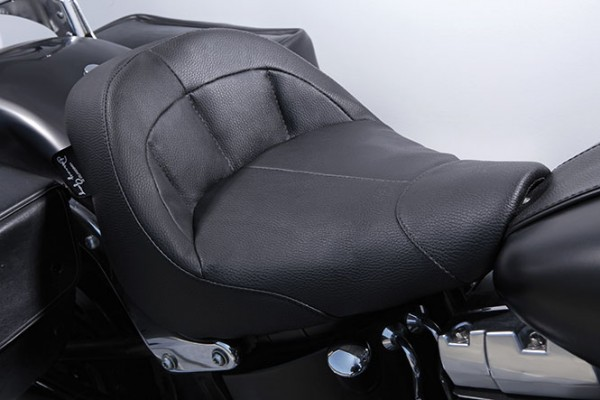 Danny Gray IST Bigist Solo Seat for Softail models, Air 1