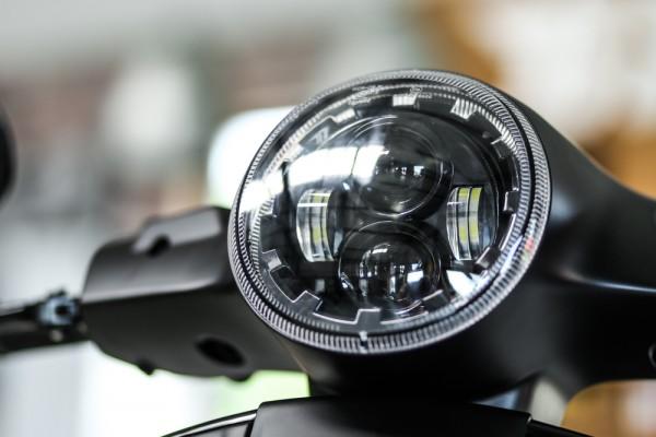 LED Scheinwerfer Daymaker Vespa GTS 300 alle Baujahre E-Zul.