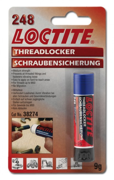 Loctite Blue Threadlocker Stick Medium Strength - 19gr