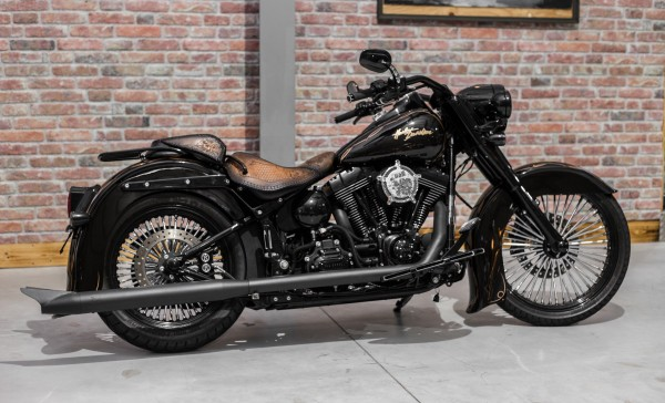 2015 Harley Davidson FLSTC Heritage Softail Mexican Chicano Umbau by BSB Customs