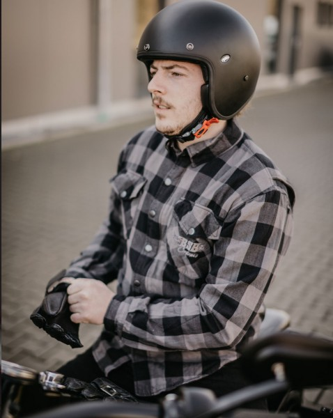 BSB Customs Kevlar® Biker-Shirt grau