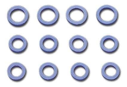 Push Rod Seal Kit, Blue Silicone