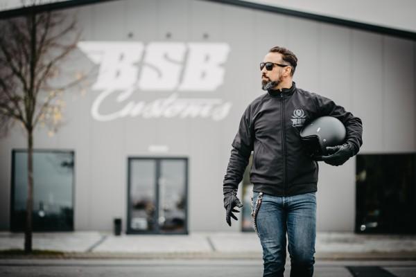 BSB Customs DuPont™ Kevlar® Softshell-Jacke ohne Kaputze