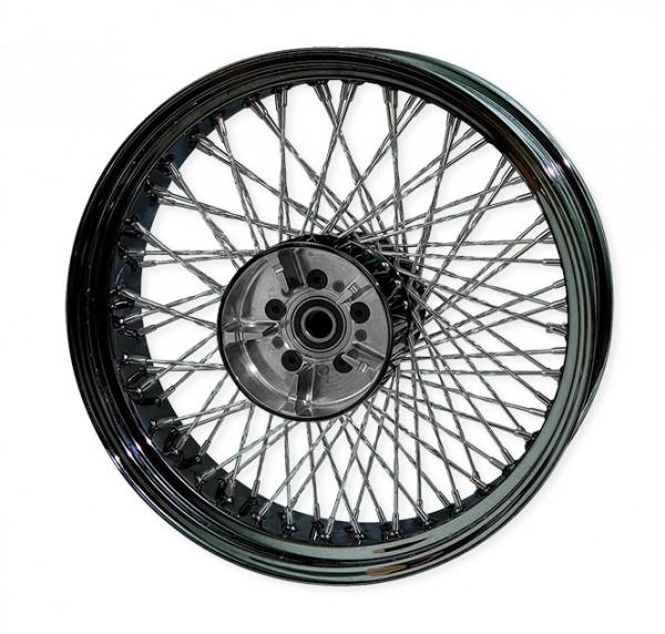 Paughco, Rear 80-Spoke Wheel Assembly 18X5.5 Round, Chrome