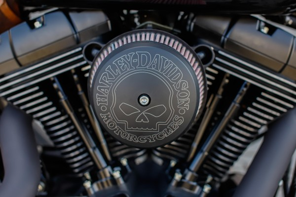 BSB Customs Luftfilter Deckel für Harley Stage 1 & Big Sucker Cover schwarz