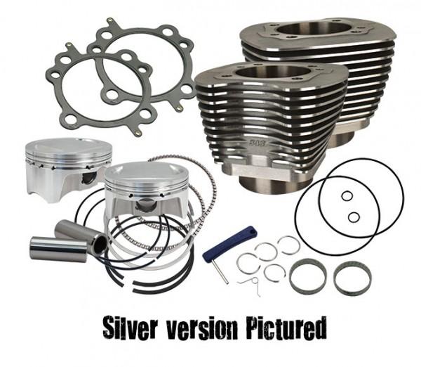 98 cui big bore kit, silver powder coat