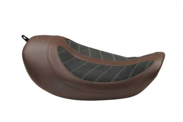 Fred Kodlin Signature Series, HD Dyna Solo Seat Brown/Black