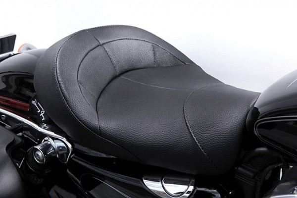 Danny Gray IST Bigist Solo Seat for Sportster models, Air 1
