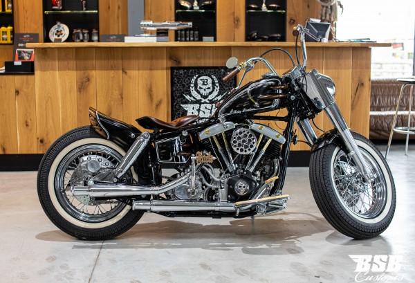 """1976 Harley Davidson SHOVEL build by """"BSB CUSTOMS"""""""