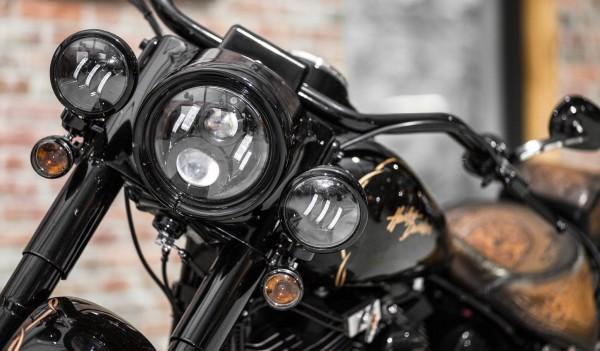 LED Zusatzscheinwerfer 4,5 Zoll schwarz