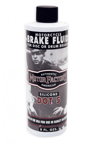 DOT-5 Brake Fluid / 8 Fl.-Oz. Bottle (ca.240ml)