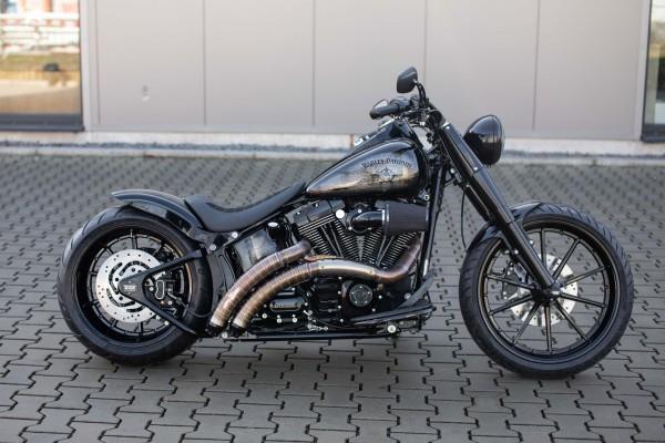 2010 Harley Davidson Sonderumbau mit edlen Teilen und Lackierung + 24 Garantie