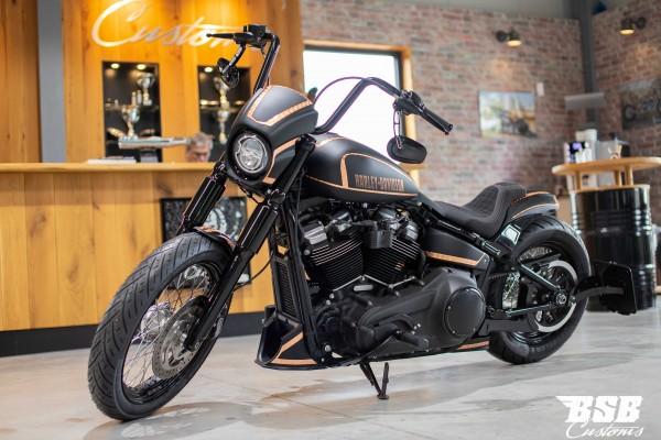 2019 Harley Davidson FXBB Street Bob Milwauke-Eight customized by BSB Customs