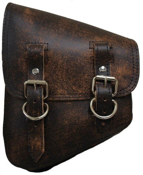 Solo Side Bag, Rustic Brown