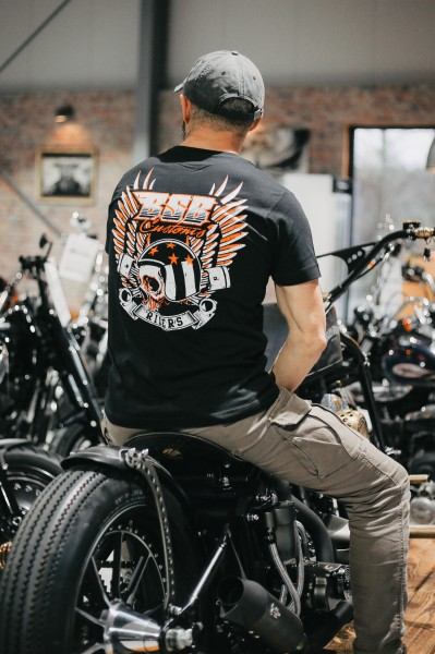 "BSB Customs "" Riders"" T-Shirts Schwarz"
