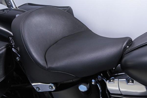 Danny Gray IST Bigist Solo Seat for Softail models, Vinyl