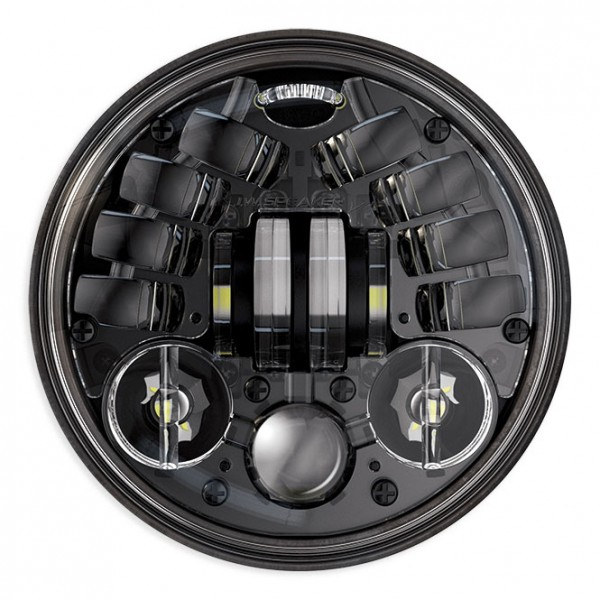 "JW Speaker 8690M, LED Standard 5 3/4"", Black"