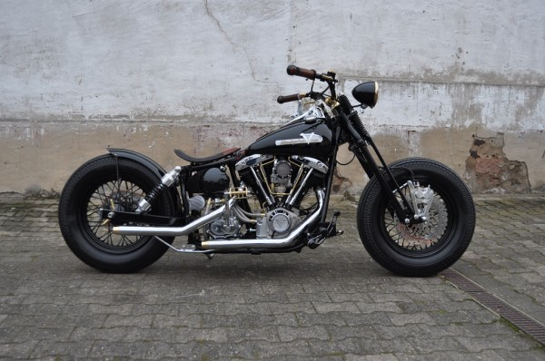 78´FX Shovel mit 113 S&S Motor, BSB Customs Umbau