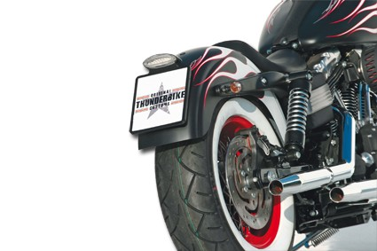 Thunderbike Down&Inside Rocker Black 22X20 cm