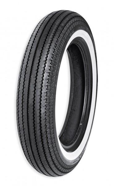 Super Classic, Front/Rear Tire 5.00-16 69S E-270SW (TubeType) Single White Line