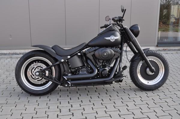 2005 Harley Davidson FLSTF Fat Boy mit 200-er Umbau + 12 Mo. Garantie