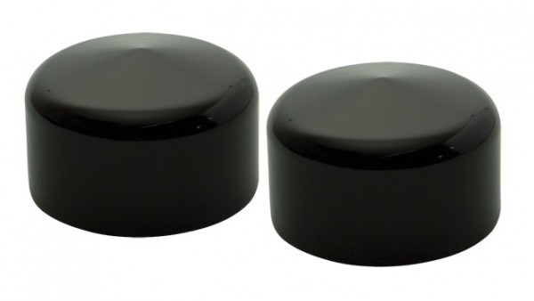 Rear Axle Cover, XL 08-, Aluminum, Powder Coated, Black Matte