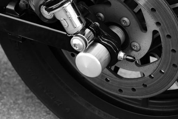 Rear Axle Cover, XL 08-, Aluminum, Raw
