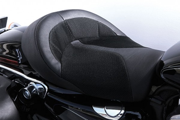 Danny Gray IST Bigist Solo Seat for Sportster models, Air 2