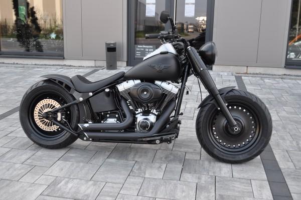 2008 Harley Davidson FLSTF Fat Boy mit Umbau + 12 Mo. Garantie