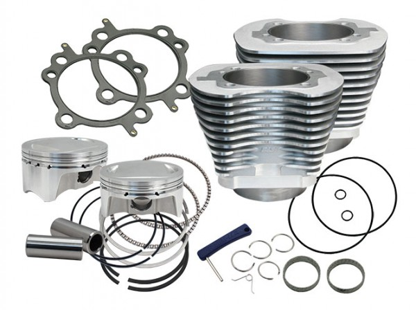 107 cui big bore kit, silver