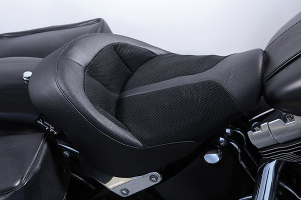 Danny Gray IST Bigist Solo Seat for Softail models, Air 2