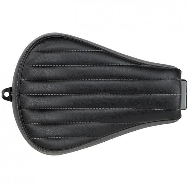 Biltwell Sporty 8 Seat Black Vertical Tuck