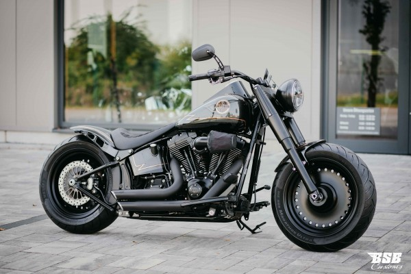 2012 Harley Davidson FLSTF Fat BOY mit edlem Umbau 24 Monate Garantie