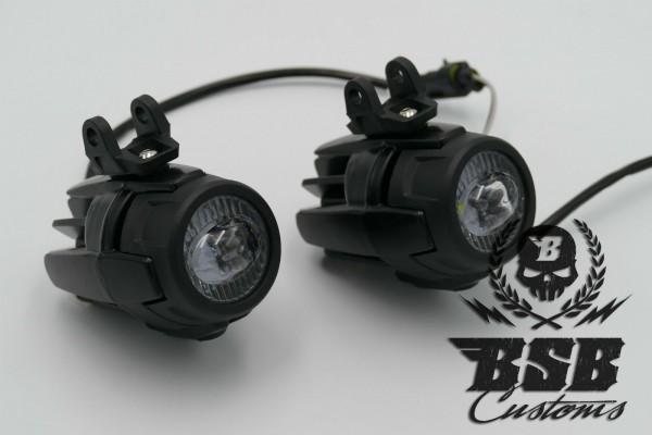 LED BMW Zusatzscheinwerfer mit Befestigungskit, E-Zulassung