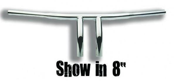 """8"""" T-Bar Chrome"""