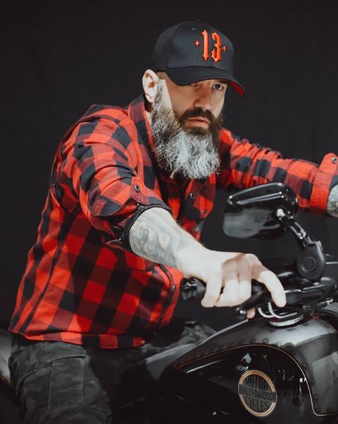 BSB Customs Kevlar® Biker-Shirt rot