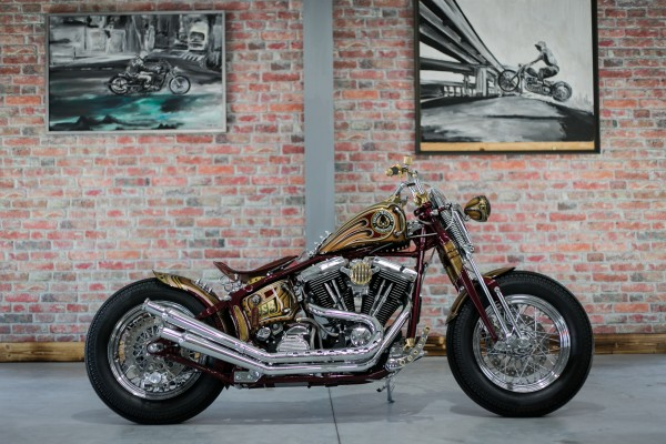 1995 FXST Bobber Umbau Exclusiv HANDMADE BSB CUSTOMS 24 Monate Garantie