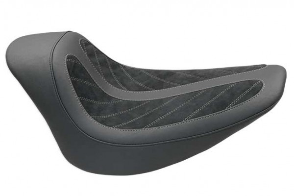 Fred Kodlin Signature Series, HD Softail Breakout Solo Seat Black